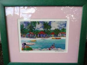 "Eileen Seitz ""Lazy Days"" Signed Print Stratford Kitchener Area image 1"