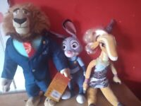 Zootropolis official licensed movie plush bears