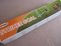 Striker goal football
