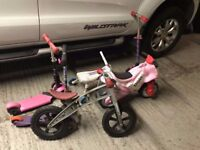 ***Kids bicycles and scooters*** Job Lot***