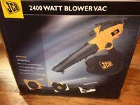 JCB 2400 WATT Blower Vac