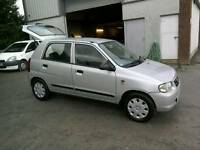 05 Suzuki Alto 1.1 GL 5 door Road Tax only£30 59000Mls low ins ( can be viewed inside anytime)