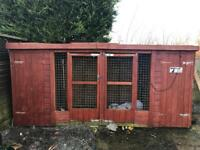 Dog cage / run