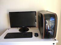 Fast Desktop PC plus Monitor