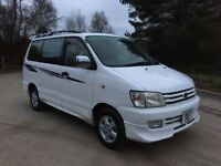 8 SEATER AUTOMATIC TOYOTA TOWNACE NEW MOT 55,000 MILES £1695 O-N-O