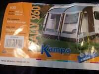 Caravan Porch Awning Kampa Rally 260