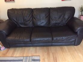 (Real) Large Leather sofa