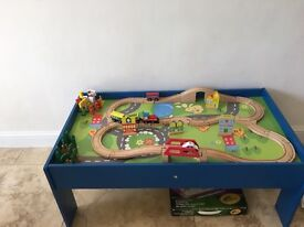 Kids train table as seen on photos in v good condition