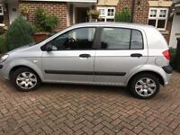 Hyundai Getz 1.1 2006/56 very low mileage! Mot 2017,still insured!! Very reliable car! P-ex welcome!