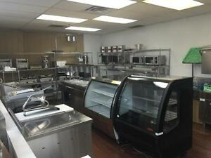 BRAND NEW KITCHEN RESTAURANT EQUIPMENT SUPPLIES, MANUFACTURING, FRIDGES, FREEZERS, DISPLAY COOLERS, UPRIGHT, PREP TABLES