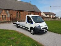 63 REG PEUGEOT BOXER RECOVERY TRUCK CAR TRANSPORTER 1-OWNER FSH 2-KEYS NO-VAT READY TO WORK CHEAP