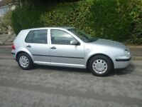 Volkswagen Golf Car! Silver 1.6L Petrol! VW, Great Car! Full Years MOT!!