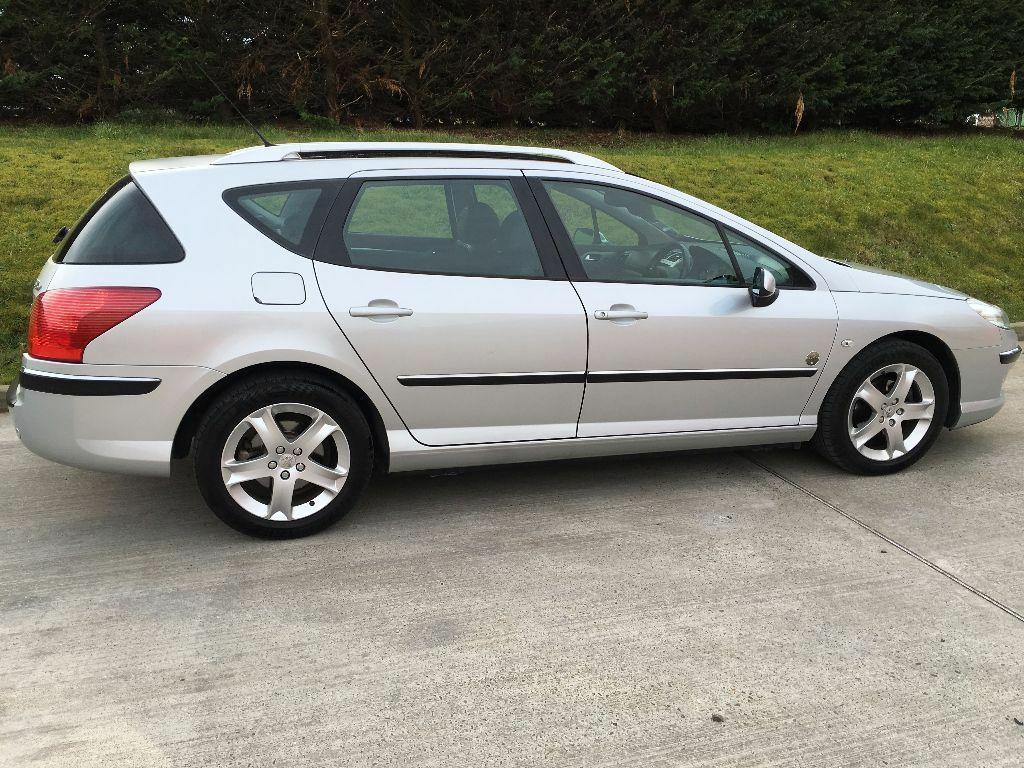 2006 peugeot 407 sw zenith 2 0 hdi diesel estate in bideford devon gumtree. Black Bedroom Furniture Sets. Home Design Ideas