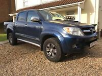Toyota Hilux invincible 3.0d 4x4 pickup 12 months MOT great work truck