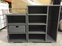 RATTAN outdoor STORAGE NEW for SALE