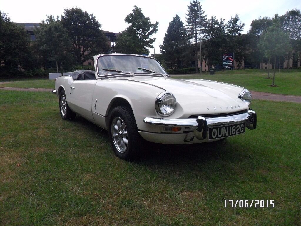 Triumph Spitfire Mk3 1.3 1969.. THE SPITFIRE IS SOLD. THANK YOU FOR ...