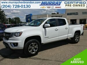 2016 Chevrolet Colorado Crew Cab Z71 4WD 3.6L *Backup Cam* *Wifi