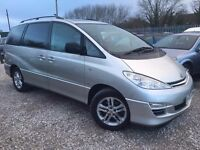 Toyota Previa 2.0 D-4D T Spirit 5dr (7 Seat), 2 FORMER KEEPERS. HPI CLEAR. FSH. CAMBELT CHANGED.