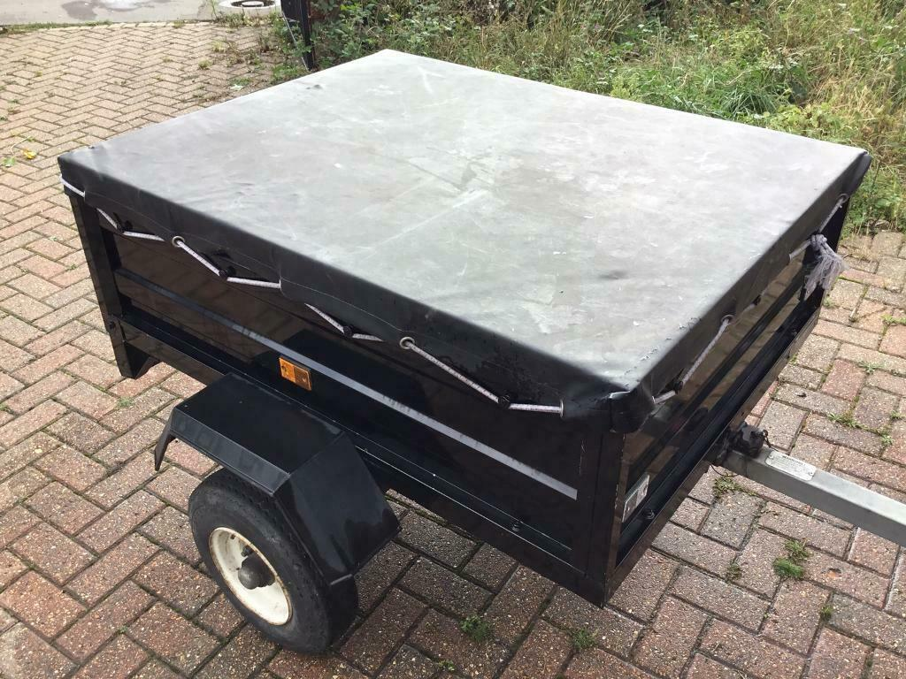 Small Tipper Trailer Perfect Size For Towing Good