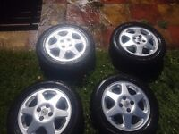 Nice vauxhall alloy wheels
