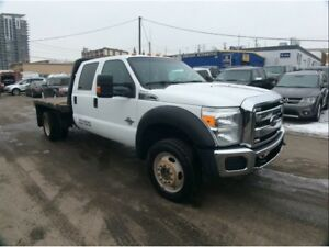 2015 Ford F-550 CHASSIS CAB / F550 / DIESEL / AUTO / 4X4 / CREW