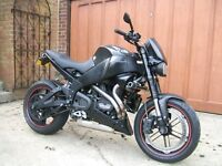 Buell XB12 ss lightning long, perfect condition, many extras
