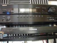 Onkyo 608 hdmi AV receiver 160w swap for 100w+ stereo amp