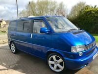 Fantastic condition semi-converted T4 camper, 83,000 miles, MOT to Apr2019