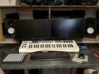 High End water-cooled i7 PC Gaming Rig - Music Studio - Video Editing Suite