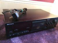 Sony TC-K611S 3 head stereo cassette deck