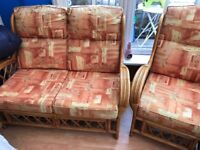Sofa / Chairs for sale used but in very good condition from smoke free pet free home