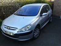 Peugeot 307. 2002, great condition, loads of history.