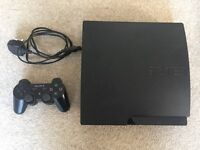 PS3 Slim 160GB With 28 Games
