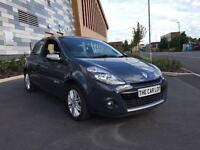 2012 62 Plate Renault Clio Dynamic. Sat nav, half leather, just serviced, 60,000 miles!