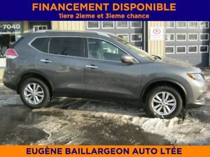 2015 Nissan Rogue S AWD, Mags, seulement 29 000 km