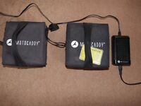 MOTOCADDY GOLF CART BATTERY CHARGER PLUS 2 USED BATTERIES