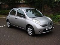 EXCELLENT EXAMPLE!! 2005 NISSAN MICRA 1.2 S 5DR, FSH, ONLY 53000 MILES, LONG MOT, WARRANTY