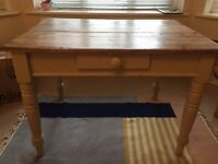 Victorian Scrubbed Pine Dining Table