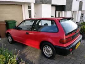 1990 Honda Civic EF 1.3 DX Auto