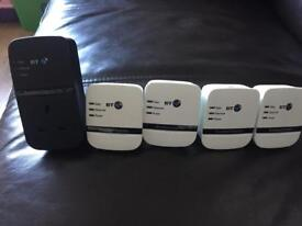 5xBT Broadband Extender Powerline Bargain £20