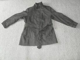 Ladies Klass Collection Jacket. Beige . Belted Size 16