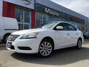 2015 Nissan Sentra 1.8-0.9% Financing Available!  Bluetooth, A/C