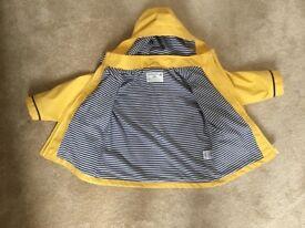 Jojo Maman Bebe Children's Fisherman's Jacket raincoat 2-3 years