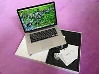 """MacBook Pro 15""""4inch Retina Display 16 GB 1600 MHz DDR3 2.2 GHz Intel Core i7 Intel Iris Pro 1536 MB"""