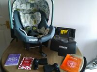 COSATTO car seat and isofix base