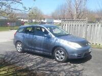 toyota matrix looking for a new home