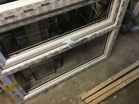 Brand new window with glass and seal