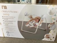 Teddy's Toy Box Swing