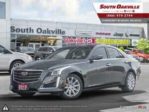 2015 CADILLAC CTS 2.0L Turbo   HEATED & VENTED LEATHER   NAVIGAT