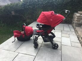 Joie Tracel system stroller and car seat